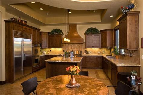 kitchen island top ideas country kitchens rustic kitchen designs photo