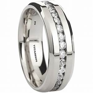 mens titanium wedding band ring With mens wide band wedding rings