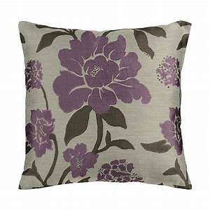 shop surya 18 in w x 18 in l taupe and bright purple With bright purple throw pillows