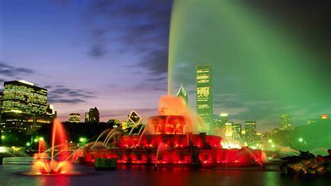 美丽的街景喷泉高清桌面壁纸大全 高清桌面壁纸下载 -找素材网