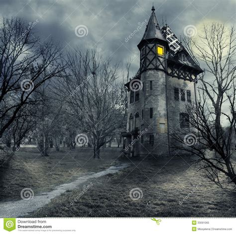 haunted house royalty  stock photo image
