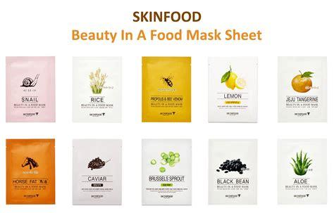 masking cuisine skinfood in a food mask sheet vu ting