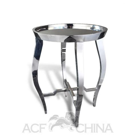contemporary stainless steel table ls contemporary asian accent table in stainless steel chrome