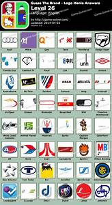 Guess The Brand Logo Mania Level 26 - Game Solver