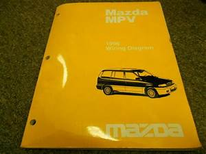 1996 Mazda Mpv Van Electrical Wiring Service Repair Shop
