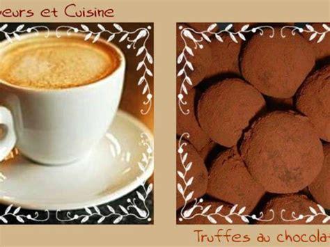 cuisine et saveur recettes de truffes au chocolat de saveurs et cuisine