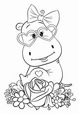 Coloring Cuties Preschool Bojanke Animal Slatkice Printables Unicorn Hippo Bontontv Books Coloriage Disney Bonton Prints Enfant Animals Children раскраски Coloringbooks sketch template