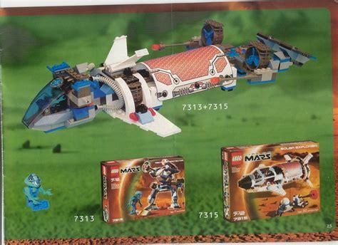 Lego Solar Explorer Instructions 7315, Space Life On Mars