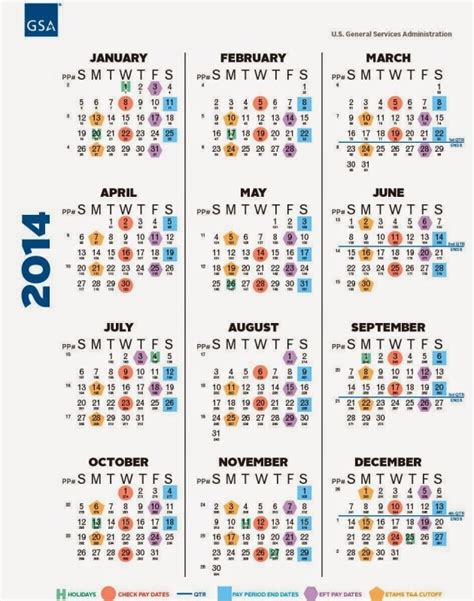 federal government payday calendar calendar template