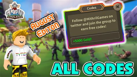 Check out these amazing new items and our exclusive code! CODES🤖Giant Simulator All Working Codes | August Edition ...
