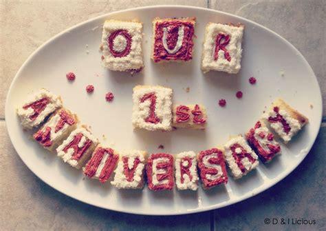 cake cubes    st wedding anniversary