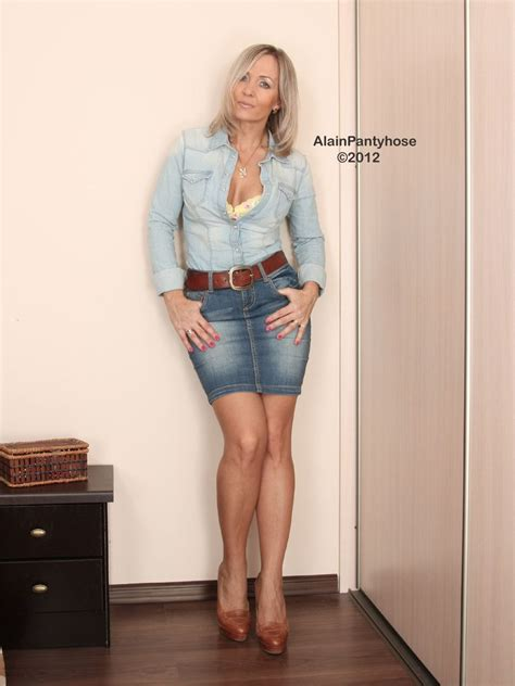 Image Result For Alainpantyhose Tight Skirt Tight Skirt
