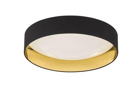 led deckenleuchte gold led deckenleuchte sete in schwarz gold bei hardeck