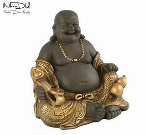 Buddha Figuren Deko : buddha figur der gl ckliche tao 24x15x20cm skulpturen deko zen statue ebay ~ Indierocktalk.com Haus und Dekorationen