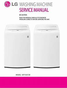 Lg Wt1501cw Washing Machine Service Manual And Repair