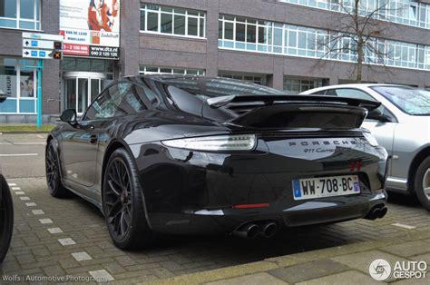porsche 911 carrera gts spoiler porsche 991 carrera gts 21 mrz 2015 autogespot