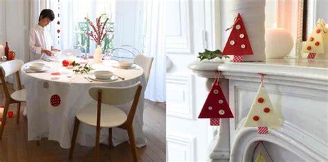 Ma Déco De Noël Scandinave En Rouge Et Blanc