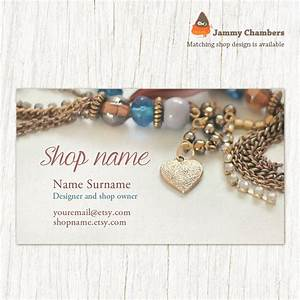Business card template business cards jewelry business for Jewelry business card designs