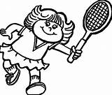 Tennis Coloring Pages Racket Ping Pong Rackets Printable Players Tags Balls Sheet Getcolorings Getdrawings sketch template