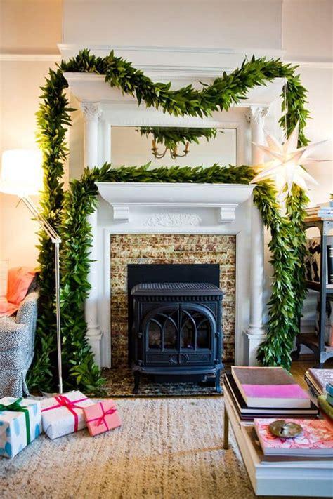 mantel christmas decorating ideas    home