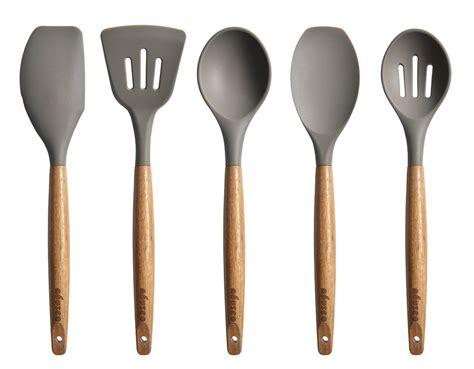 silicone cuisine miusco 5 silicone cooking utensil set with