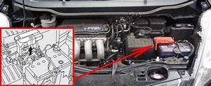 Fuse Box Diagram Honda Fit  Ge  2009