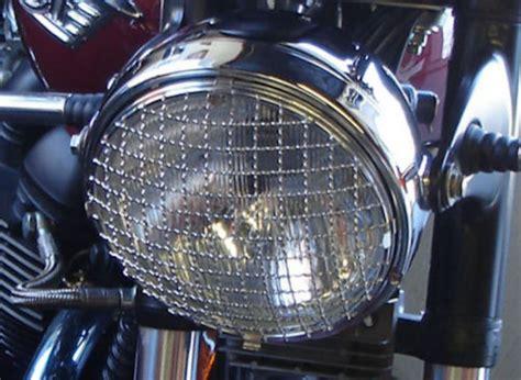 triumph bonneville thruxton  headlamp stainless steel