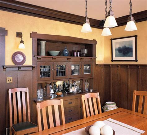 period homes interiors magazine wood wainscot revival design for the arts crafts house