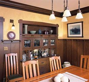 Wood Wainscot Revival - Design for the Arts & Crafts House