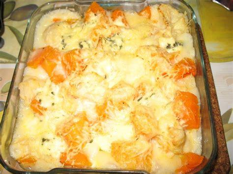 gratin chou fleur et butternut les petites recettes de v 233 ro