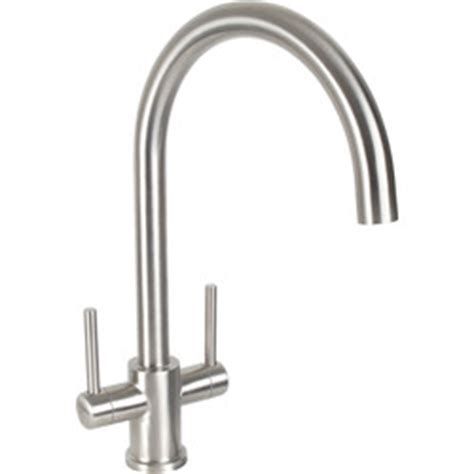 mixer tap for kitchen sink dava stainless steel kitchen sink mixer tap toolstation 9181