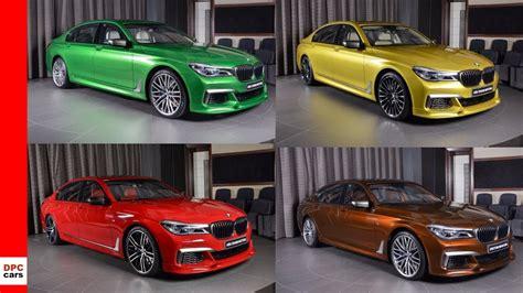 bmw colors 2018 bmw 7 series m760li alpina b7 in individual colors