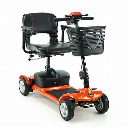 Scooter Portable Kymco Mobility Scooters Lite Orange