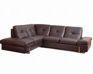 sectional sofa in italian leather 33ls221 With italian leather sofa