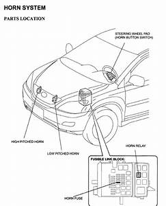 Where Is The Rx330 Horn Relay  - Clublexus