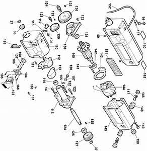 Dewalt Dw734 Portable Thickness Planer Parts  Type 1  Parts