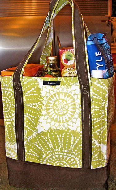 EZ Grocery Bag Tutorial | AllFreeSewing.com