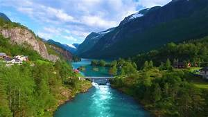 Beautiful, Nature, Norway, Natural, Landscape, Stock, Footage