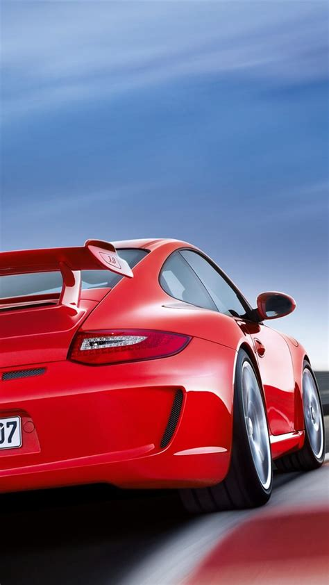 Red And Black Wall Paper Red Porsche Iphone Hd Wallpaper Iphone Wallpaper