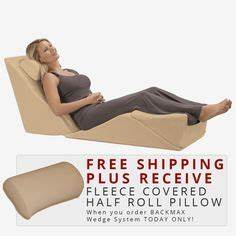 lcao010 this wedge pillow relieves lower back pain With bed wedge for lower back pain