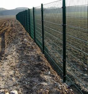 Cloture Et Grillage : paysagiste 60 oise cloture grillage plantation panneaux ~ Edinachiropracticcenter.com Idées de Décoration