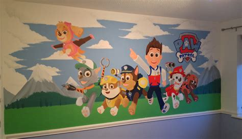 Frozen Themed Bedroom by Kids Custom Artwerk