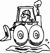 Coloring Bulldozer Awesome Wecoloringpage sketch template