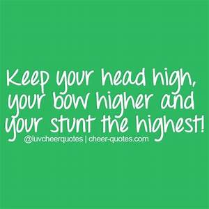 Cute Cheer Quotes - CheerAdvice101