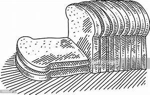 Slice Bread Clip Art Stock Illustrations and Cartoons ...