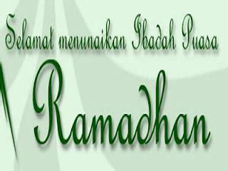 kata ucapan menyambut bulan suci ramadhan