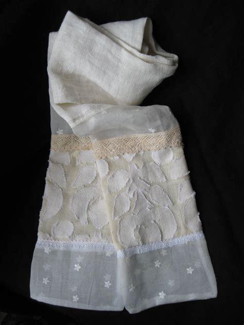 turn vintage dresses into scarves diy old wedding