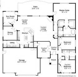 open floor plan home plans open ranch style floor plans ranch style house plans backyard house plans floor plans