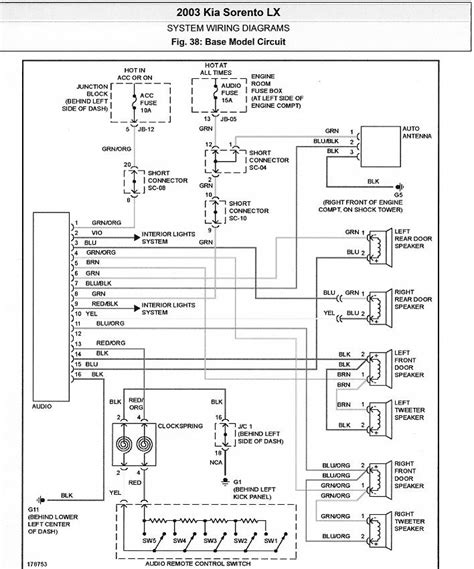 car electrical wiring help need wire color diagram 2003