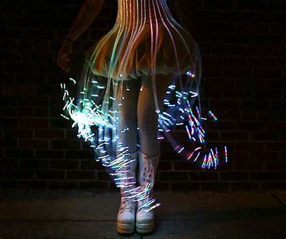 Fiber Optic Robe Natalie Glow Painting Walsh